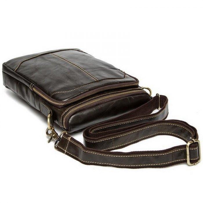 fc1af631234b Горячая распродажа мужчины сумка мужчины кроссбоди мужская сумка 100%  подлинные кожаные сумки новых бесплатная доставка