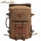 Kaukko старинные женщин-мужские рюкзаки рюкзак холст мешки багажа туризм отдых рюкзак мешок