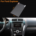 Стайлинга автомобилей 8 дюймов GPS навигация стали защитная пленка для форда исследователь контроль жк-экран автомобиля стикер