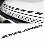 Для форда исследователь 3D исследователь буквы наклейка эмблема логотип наклейки стайлинга автомобилей черный серебристый хром 2011