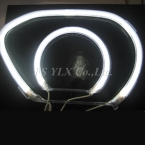 Автомобилей CCFl глаза ангела для Honda Civic 2006 CCFl лампы гало кольца для Honda Civic белый бесплатная доставка