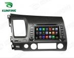 Quad Core 1024*600 Android 5.1 Автомобиль DVD GPS Навигации Игрока для Civic 2006-2011 GPS Радио 3 Г and Wi-Fi рулевого колеса управления