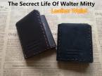 Тайная жизнь уолтер Mitty из натуральной кожи бумажник мужчин урожай ручной природный натуральной кожи кошельки кошелек для человека