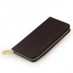 Портмоне из натуральной кожи скучный польский кошелек мода свободного покроя длинные бизнес мужской клатч кошельки Carteira Masculina Billeteras