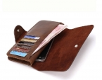 Новых мужчин кошельки из натуральной Кожи Бумажник для мужчин телефон случаях Гент Кожаные кошельки мужские кожаные кошельки carteira masculina