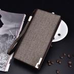 Baellerry бизнес-кошельки мужские твердые искусственная кожа долго бумажник портативные кошельки свободного покроя стандартные кошельки мужской клатч
