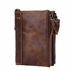 Горячая Подлинная crazy-лошадь натуральной кожи мужчины короткие портмоне небольшой старинный кошелек марка высокое качество старинные дизайнер
