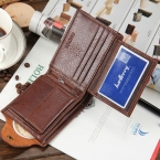 мужчины кошельки 100% натуральная кожа известный бренд молнии и засов мужской бумажник коричневый дизайнер короткая мужская Carteras