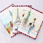Мода мисс загранпаспорта крышка ID кредитных карт мешок 3D дизайн пвх кожаный паспорт 14 * 9.6 см