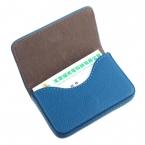 Карманный кожаный карты чехол изысканный магнитного привлекательный имя карты чехол визитная карточка коробка держатель # 2415