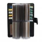 52 слотов из натуральной кожаная мужская визитница женская визитницы для карт кредитная карта чехол/мешок роскошный подарок кошелек высокое качество мода бумажник