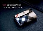 лучших дизайнеров бренда мужчины и женщины кожа владелец кредитной карты визитная карточка чехол и ID кошельки 26 карты памяти-подарочной упаковке пакет