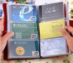 90 слоты натуральная кожа бизнеса кредитных карт держатель чехол женщины мужчины держателя карты бумажник карты пакет