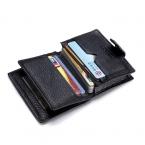 Бесплатная доставка мужчины продают из натуральной кожи бизнес-кредитов ID держателя карты чехол бумажник крокодил линии засов держателя карты