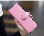 55 длинные кожаные женщины женский бизнес id держателей кредитных карт чехол обложка для паспорта кошельки carteras де marca monederos mujer 5