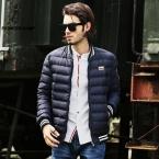 мода новый зимний пуховик мужчины гусь белая утка вниз пальто мужские-куртка-куртка повседневная спортивная