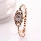 Король девушка горячая распродажа золотая цепь браслет из нержавеющей стали роскошные наручные часы для женщин одеваться старинные мода часы XR729