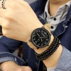 100 percent   Стильный YAZOLE № 329 Классический Большой Циферблат Кожа PU Кварцевые Подсветка Наручные Часы для Мужчин Мужской Моды