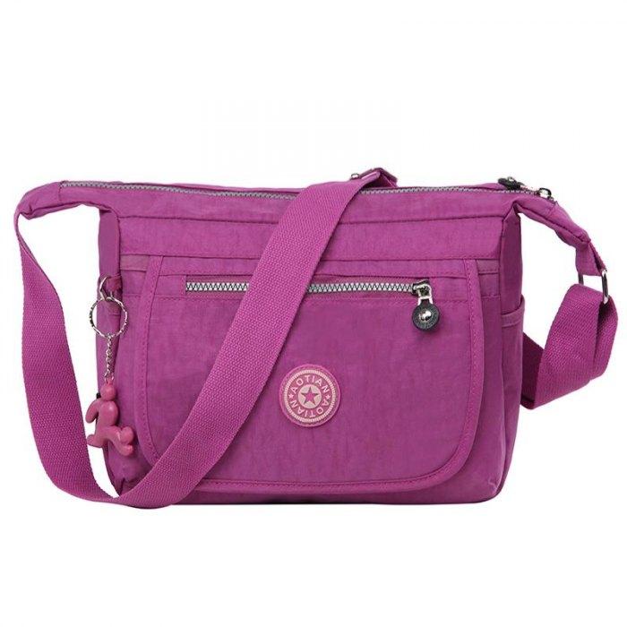 3b6b70930c14 Водонепроницаемые нейлоновые женские сумки мессенджеры, модные сумки через  плечо для школы, женские спортивные сумки, плечевые сумки