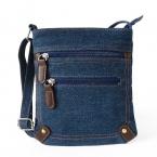 Женщины джинсовые посланник девушку мини малый сумка старинные заклепки satchels дамы кроссбоди слинг сумка borse bolsos sacoche