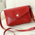 Горячая распродажа сердца женщин кожаные сумки кроссбоди сумки на ремне мода вестник мешки небольшой женщин сумки