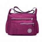 Женская посланник сумки дамы нейлон сумочка свободного покроя сумка открытый женский высокое качество большой емкости кроссбоди сумки