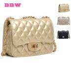 Новая цепь женщины crossbody сумки модный бренд женская сумка дизайнер золотой кожаная сумка мини сумки на ремне девушки сумка