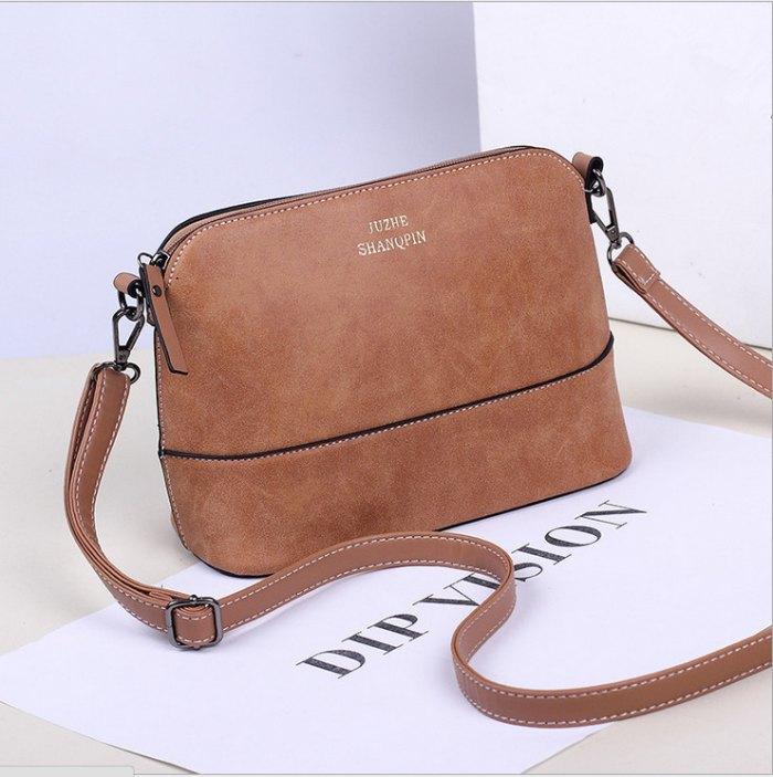 656017e3188b осень мода опрятный стиль штамп одно плечо сумки женщины кожаные сумки  женщины сумки женщины сумочку