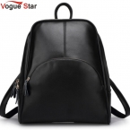 Моде звезда  новинка рюкзак женщины рюкзак кожаный мешок школы женщин свободного покроя стиль YA80-165