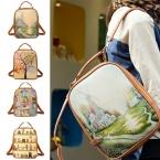 Ретро-корейски мода девушки сумка студент рюкзаки мешок школы