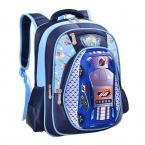 День защиты детей подарок 3D автомобилей дети школьные сумки высокого качества Мультфильм рюкзак большой емкости Путешествия Рюкзак для унисекс