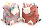 Животное дизайн дети мальчики девочки 3D милый кролик школа мешок анти-потерянный рюкзак дети детский сад мешок младенцы комикс