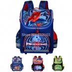 детская школа для мальчиков ортопедические водонепроницаемый рюкзаки детьми мальчик паук книга ранец ранец Mochila эсколар