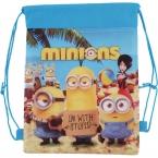Детей школьного сумки гадкий я и дети мультфильм мешок drawstring-детские Mochila Infantil для подарка и мешок