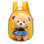 Горячие Рождество специальный подарок Детям школьные сумки милый мультфильм медведь детские рюкзаки для девочки дети сумки Бесплатная Доставка