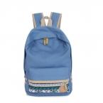 Школьный рюкзак девушки Холст Мешок Школы Bookbag Рюкзак Путешествия Рюкзак