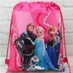 миньон эльза gmy мешок школы нетканые строка чистка рюкзак сумка для мальчиков и девочек детей подарки на день рождения все-матч