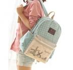 модный холстяной рюкзак, детская школьная сумка, женский детский школьный ранец, хорошие удобные рюкзаки для девочек тинейджеров