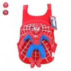 Забавный новый 3D детский рюкзак человек-паук для мальчиков, детская школьная сумка с изображением героя из мультфильма