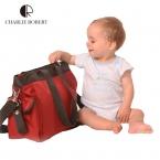 Высокое качество европейский стиль марка мода пеленки мешок большой подгузник сумки для мамы многофункциональный беременным коляска HK384