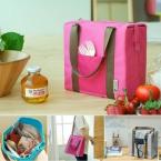 Большой емкости портативный отдых более холодные мешки 4 цветов нейлон Ice сумки питание обед мешок для пикника организатор сортировки ящик для хранения сумки