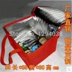35 x 35 x 30 см дополнительная больший утолщаются складной свежий поддержанию сумка холодильник обед для пищевых продуктов фрукты морепродукты стейк изоляции термосумка
