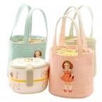 Новые  маленькая девочка тепловой кулер изолированный бенто сумка обед сумки портативный организатор обед для хранения