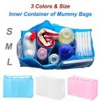 Пеленки младенца пеленальный хранения внутренний контейнеры, По беременности и родам нескольких лайнеры подкладка делитель 3 цвета sml размеры