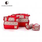 4 шт. высокое качество мать дизайнер женщин мода пеленки мешок многофункциональный пеленки мешок для мамы ребенка хранения мама сумки HK336
