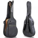 """40 """" 41 """" акустическая гитара двойной ремни мягкий гитара мягкий чехол Gig Bag рюкзак горячая распродажа"""
