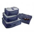 6 шт. путешествия камера сумка комплект одежды организатор единый размер чехол сумочка чемодан