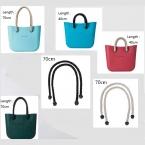 1 пара длинные веревочными ручками для Obag AMbag женские сумки конопля сумка сумочка лентой obag ручка длинный размер 70 см длина