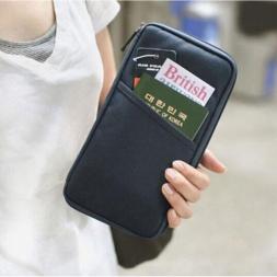 Популярная мода. Туристический органайзер для хранения денег, визиток,  банковских карт и документов. JQ1514