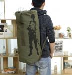 Человека canves дорожная сумка большой емкости открытый спорт военные энтузиасты большой багаж сумку свет спортивную сумку армейский рюкзак